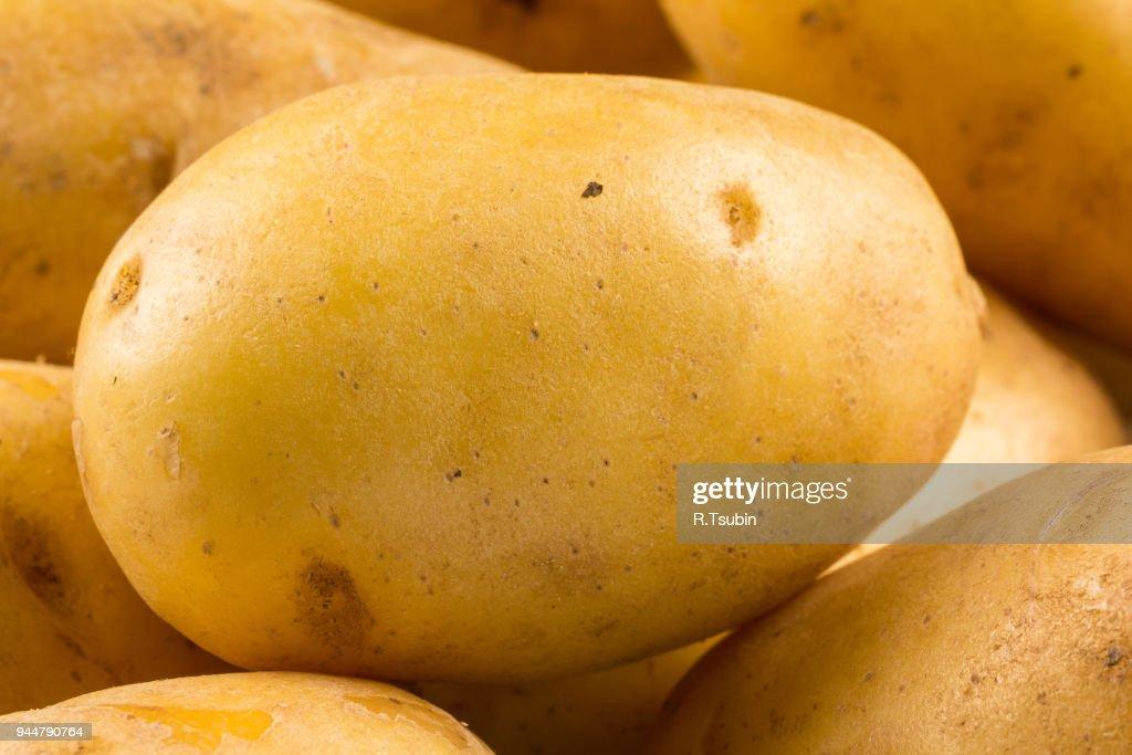 aw potato vegetable : Stock Photo