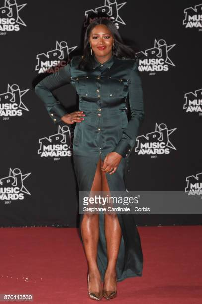 Awa Imani attends the 19th NRJ Music Awards on November 4 2017 in Cannes France