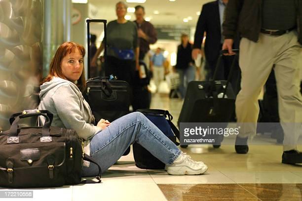awaiting the flight home
