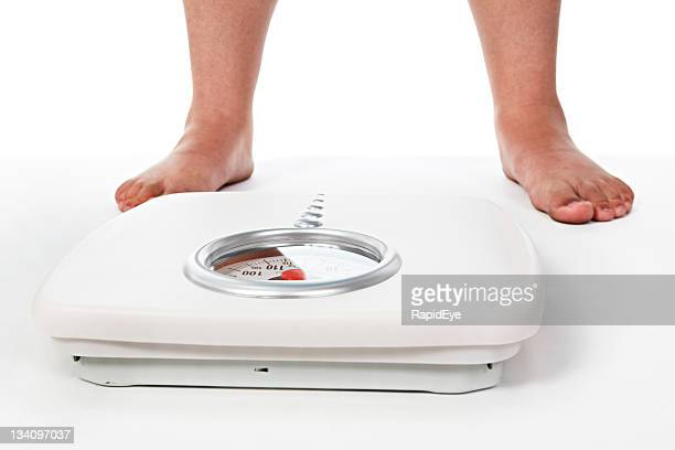 Fat legs stock photos and pictures getty images for Best bathroom scale for elderly