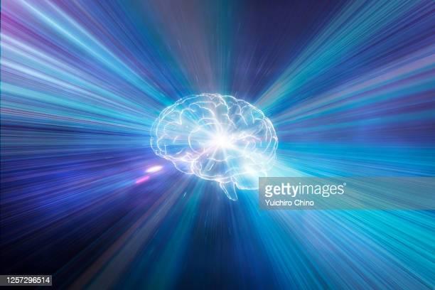 awakening human brain - resurgimiento neoclásico fotografías e imágenes de stock