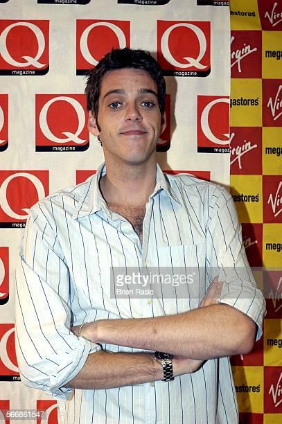 Q Award Nominations Virgin Megastore London Britain 24 Sep 2003 Iain Lee