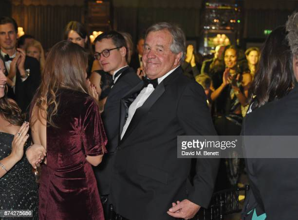 Award of Merit winner Sir Michael Stoute attends The Cartier Racing Awards 2017 at The Dorchester on November 14 2017 in London England