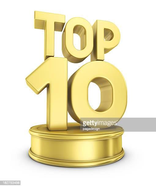 top 10 award - medalha de ouro - fotografias e filmes do acervo
