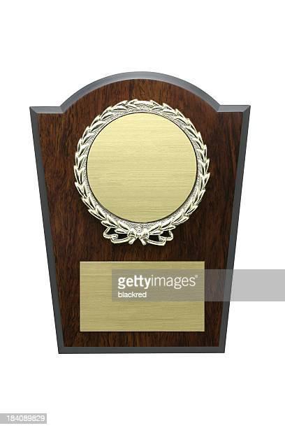 Auszeichnung-Plakette