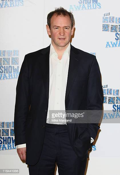 Award presenter actor Alexander Armstrong during the South Bank Show Awards 2009 at the Dorchester Hotel on January 20 2009 in London England