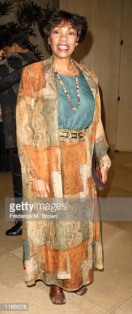 Award presenter Yolanda King arrives at the annual Spirit of Chrysalis Awards October 3 2001 in Beverly Hills CA
