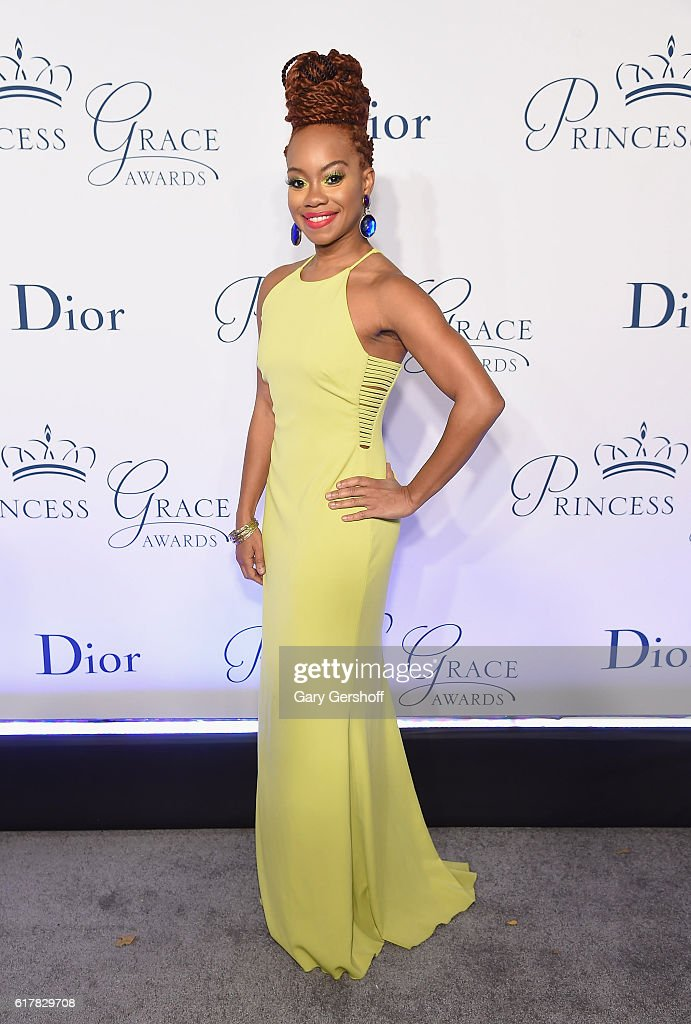 Award recipient, dancer/choreographer Camille A. Brown attends the 2016 Princess Grace Awards Gala at Cipriani 25 Broadway on October 24, 2016 in New York City.