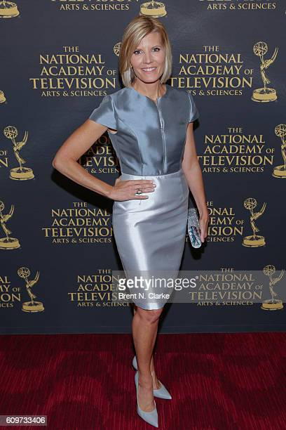 Award recipient for outstanding interview Kate Snow attends the 37th Annual News and Documentary Emmy Awards held at Frederick P Rose Hall Jazz at...