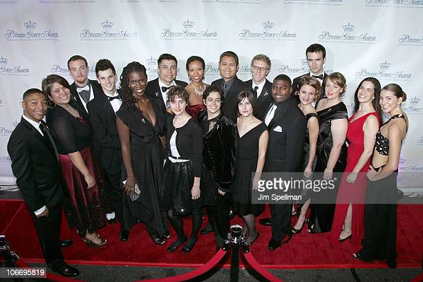 Award recipients attend the 2010 Princess Grace Awards Gala at Cipriani 42nd Street on November 10 2010 in New York City