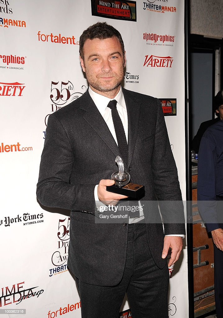 Award winner, actor Liev Schreiber attends the press room at the 55th Annual Drama Desk Awards at the FH LaGuardia Concert Hall at Lincoln Center on May 23, 2010 in New York City.