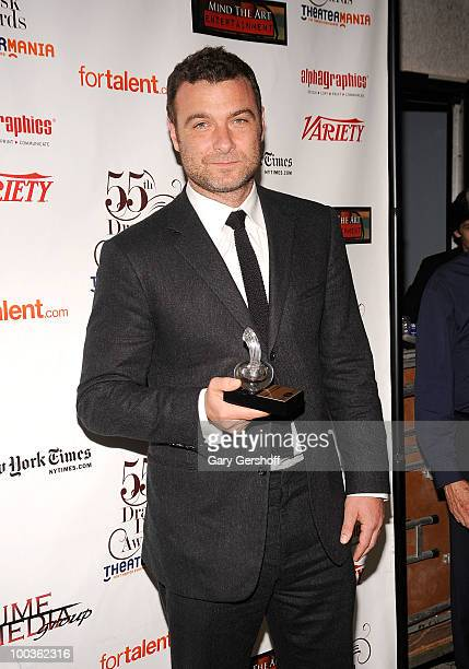 Award winner actor Liev Schreiber attends the press room at the 55th Annual Drama Desk Awards at the FH LaGuardia Concert Hall at Lincoln Center on...