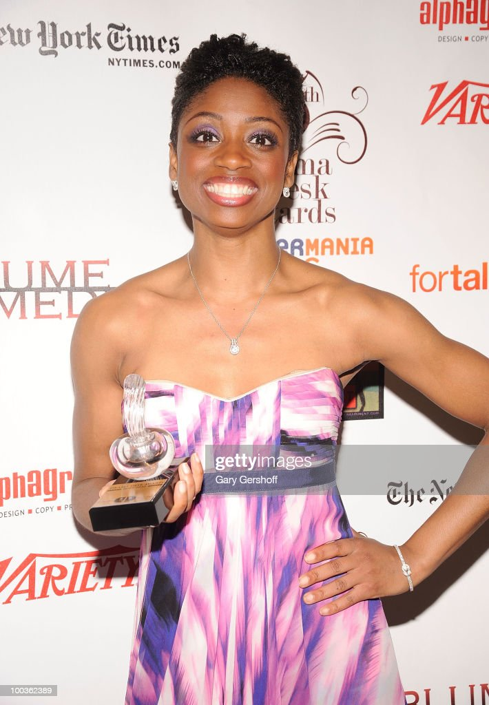 Award winner, actress Montego Glover attends the press room at the 55th Annual Drama Desk Awards at the FH LaGuardia Concert Hall at Lincoln Center on May 23, 2010 in New York City.