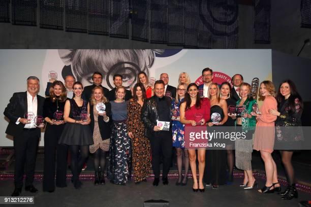 Award Winner at the Glammy Award 2018 on February 1, 2018 in Munich, Germany.