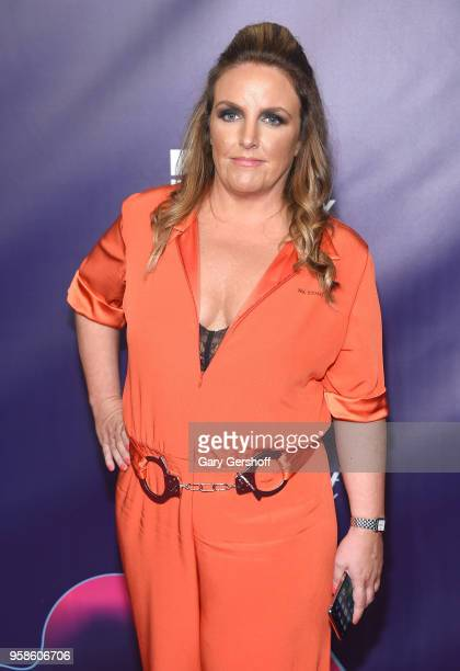 Award winner Chandra Bozelko attends the 22nd Annual Webby Awards at Cipriani Wall Street on May 14 2018 in New York City