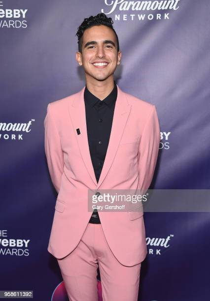 Award winner Dylan Marron attends the 22nd Annual Webby Awards at Cipriani Wall Street on May 14 2018 in New York City