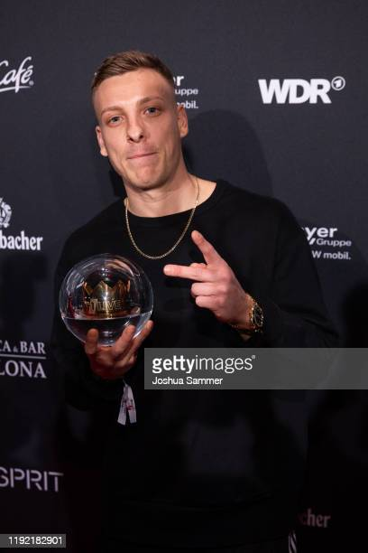 Award winner Felix Lobrecht at the 1Live Krone radio award at Jahrhunderthalle on December 05 2019 in Bochum Germany