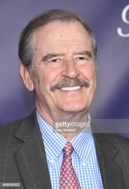 Award winner former President of Mexico Vicente Fox attends the 22nd Annual Webby Awards at Cipriani Wall Street on May 14 2018 in New York City