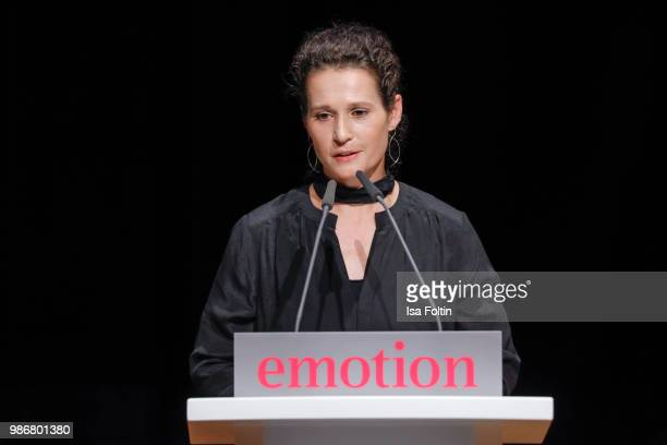 Award winner 'Frauen in Fuehrungspositionen' during the Emotion Award at Curio Haus on June 28 2018 in Hamburg Germany