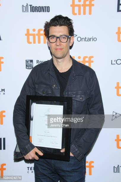 Award winner Guy Nattiv poses after receiving the Fipresci Special Presentation Award for 'Skin' at the 2018 TIFF Awards Ceremony at TIFF Bell...