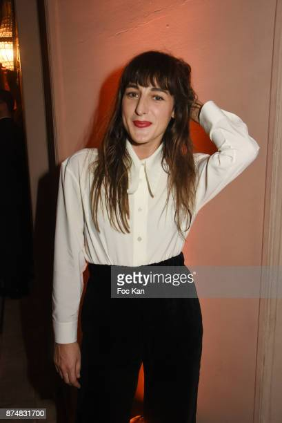 GQ 2017 award winner Juliette Armanet attends the Les GQ Men Of The Year Awards 2017 Photocall at Trianon on November 15 2017 in Paris France