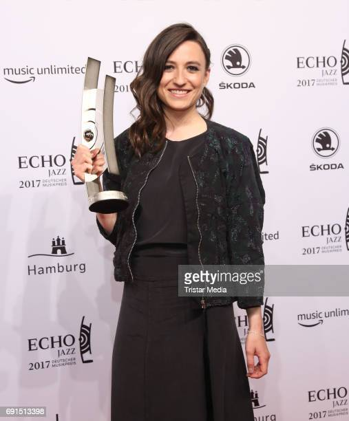 Award winner Lucia Cadotsch during the Echo Jazz 2017 on June 1 2017 in Hamburg Germany