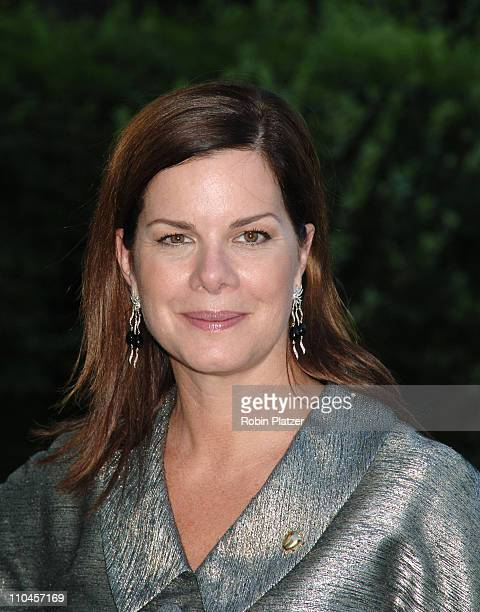 Award Winner Marcia Gay Harden during Made in NY Awards for Outstanding Achievement in the Entertainment Industry at Gracie Mansion in New York New...