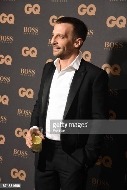 GQ 2017 award winner Mathieu Kassovitz attends the Les GQ Men Of The Year Awards 2017 Photocall at Trianon on November 15 2017 in Paris France