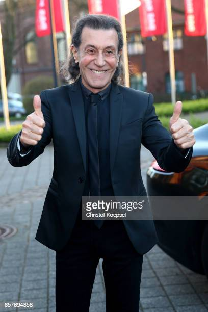Award winner music Albert Hammond poses during the Steiger Award on at Coal Mine Hansemann Alte Kaue March 25 2017 in Dortmund Germany
