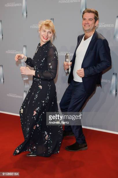 Award winner Rosalie Thomass attends the German Television Award at Palladium on January 26 2018 in Cologne Germany
