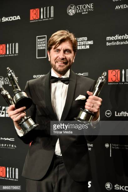 Award winner Ruben Oestlund attends the European Film Awards 2017 on December 9 2017 in Berlin Germany