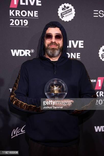 Award winner Sido at the 1Live Krone radio award at Jahrhunderthalle on December 05 2019 in Bochum Germany