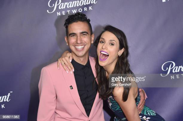 Award winners Dylan Marron and Liz Plank attend the 22nd Annual Webby Awards at Cipriani Wall Street on May 14 2018 in New York City