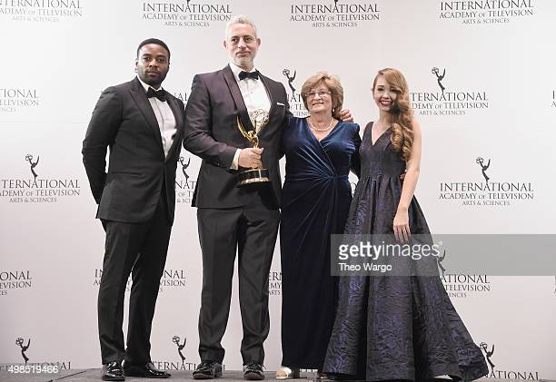 Award Winners for NonScripted Entertainment for 50 Ways To Kill Your Mammy Baz Ashmawy Executive Producer and Nancy Ashmawy Principal Cast celebrate...