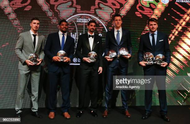 60 Top Turkish Airlines Euroleague Awards Ceremony 2017 Turkish