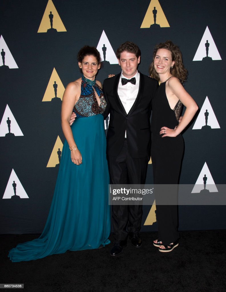 Award Winners Marit Weerheijm, Jan-Eric Mack and Katja Benrath attend the 44th Students Academy Awards at the Academy of Motion Picture Arts and Sciences, on October 12, 2017, in Beverly Hills California. /