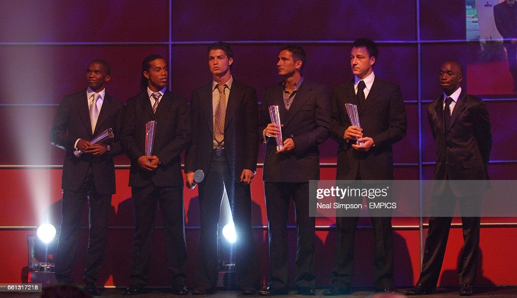 Mastercard FIFPro World XI Player Awards 2005 - BBC TV Centre : News Photo