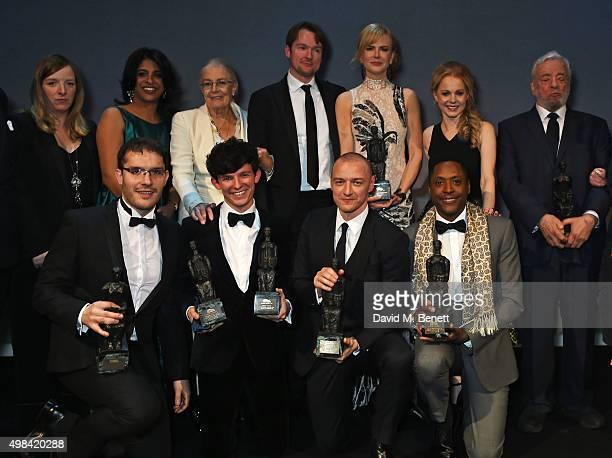 Award winners Sarah Burton Indhu Rubasingham Vanessa Redgrave Killian Donnelly Nicole Kidman Amy Lennox Stephen Sondheim Robert Icke David Moorst...