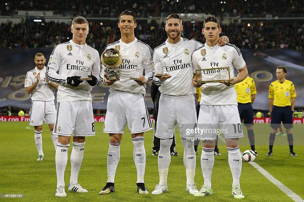 Real Madrid v Atletico de Madrid - Copa del Rey: Round of 16 : News Photo