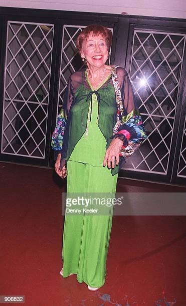 """Award winning actress Jean Stapleton arrives at the premiere of her new play """"Eleanor: Her Secret Journey,"""" September 17, 2000 in Beverly Hills, CA...."""