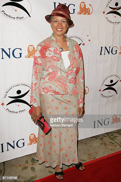"""Award winning costume designer Myrna Colley Lee attends the """"Victoria Rowell Steps Out For High Tea At Noon"""" event at the Beverly Hills Hotel on May..."""