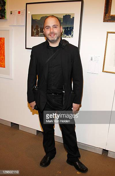 Award winning documentary photographer Kevin Tachman attends The New York Academy of Art's 20th Annual Take Home a Nude benefit at Sotheby's on...