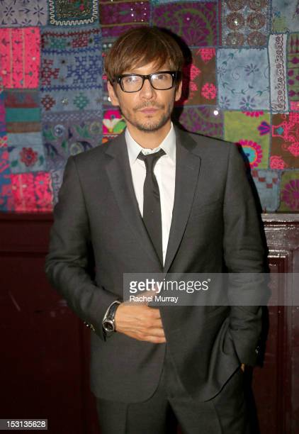 Award Winning Hairstylist Ken Paves attends the 10th Annual GLAD Benefit in support of equal access for the deaf and hard of hearing hosted by Ken...