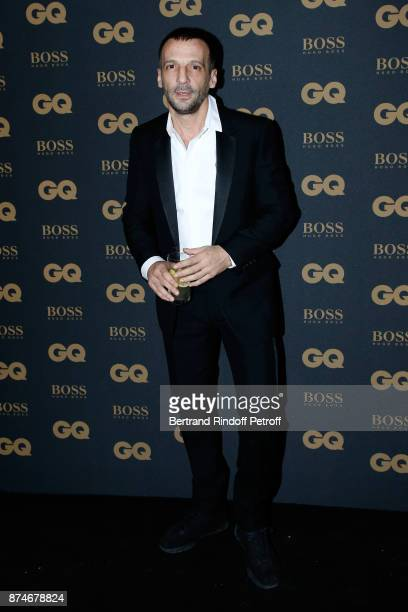 Awarded as Actor of the year, Mathieu Kassovitz attends the GQ Men of the Year Awards 2017 at Le Trianon on November 15, 2017 in Paris, France.