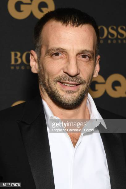 Awarded as Actor of the year Mathieu Kassovitz attends the GQ Men Of The Year Awards 2017 at Le Trianon on November 15 2017 in Paris France