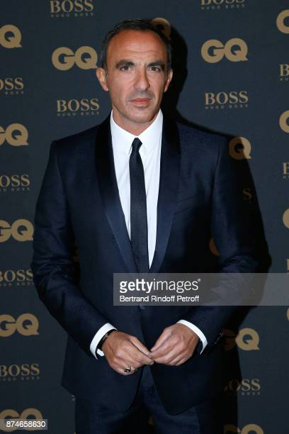 Awarded as Animator of the year Nikos Aliagas attends the GQ Men of the Year Awards 2017 at Le Trianon on November 15 2017 in Paris France