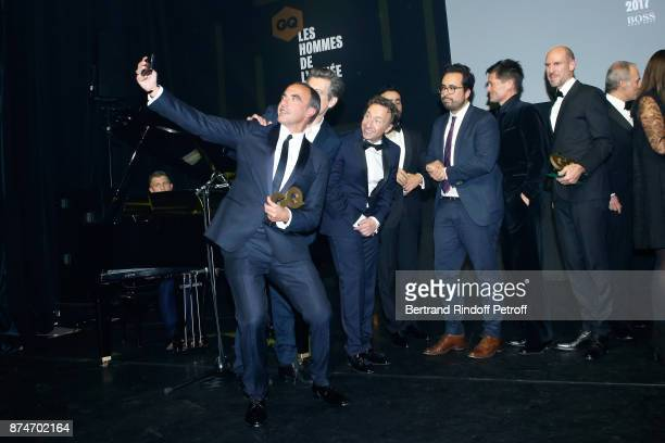 Awarded as Animator of the year Nikos Aliagas Awarded as 'Male Singer' of the year Benjamin Biolay Stephane Bern Awarded as Digital Man of the year...