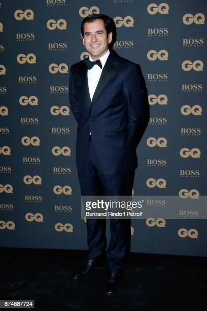 Awarded as Businessman of the year Nicolas Houze attends the GQ Men of the Year Awards 2017 at Le Trianon on November 15 2017 in Paris France