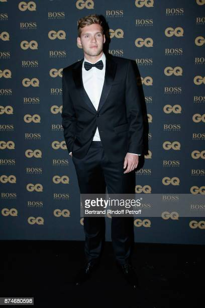 Awarded as Champion of the year Kevin Mayer attends the GQ Men of the Year Awards 2017 at Le Trianon on November 15 2017 in Paris France