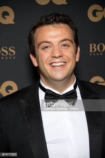 Awarded as 'Chef' of the year Alexandre Gautier attends the GQ Men Of The Year Awards 2017 at Le Trianon on November 15 2017 in Paris France